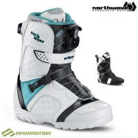 Northwave snowboard bakancs GRACE SL white - green
