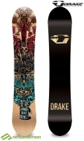 Drake snowboard deszka GREEN BATTLE