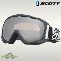 Scott sí-, és snowboard szemüveg FIX 216659 black/silver chrome