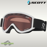 Scott sí-, és snowboard szemüveg FACTOR IN ACS white/light amplifire