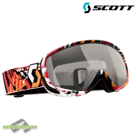 Scott sí-, és snowboard szemüveg DANA illusion pink/natural lens black chrome