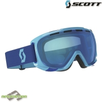 Scott sí-, és snowboard szemüveg FIX blue/blue chrome