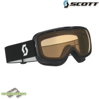 Scott sí-, és snowboard szemüveg AURA STD black/light amplifiere sperical
