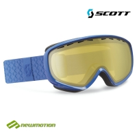 Scott sí-, és snowboard szemüveg DANA blue solid  - light sensitive bronze chrom lencsével