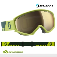 Scott sí-, és snowboard szemüveg FAZE mascaw green - alpine green light sensitive lencsével