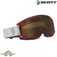 Scott sí-, és snowboard szemüveg SANCTION grove brown/natural lens gold chrome