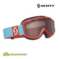 Scott sí-, és snowboard szemüveg JR HOOK UP red light amplifier