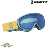 Scott sí-, és snowboard szemüveg DANA ACS light blue/yellow/blue chrome