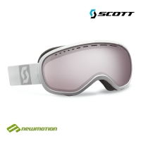 Scott sí-, és snowboard szemüveg Off-Grid white - silver chrome 224141