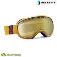 Scott sí-, és snowboard szemüveg Off-Grid golden yellow - light sensitive amplifiere bronze chrome
