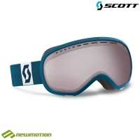 Scott sí-, és snowboard szemüveg Off-Grid tile blue - silver chrome