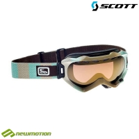 Scott sí-, és snowboard szemüveg WITNESS herringbone - gold chrome