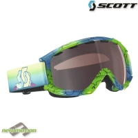 Scott sí-, és snowboard szemüveg SANCTION tubes blue/silver chrome