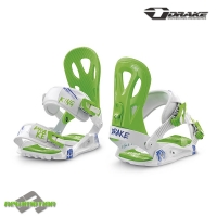 Drake snowboard kötés KING white/blue/green