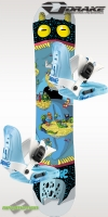 Drake junior snowboard szett LF Kid 2013